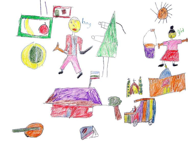 Drawnings by a 6 Year Old   Home / Archive / A drawing by ...