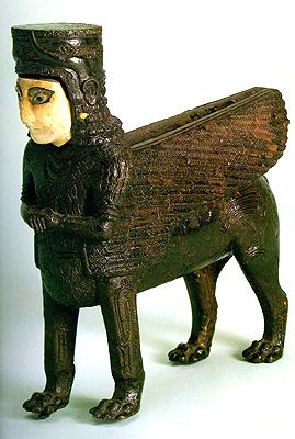 Figure: Throne Decoration  Urartu  8th century BC  The State Hermitage Museum