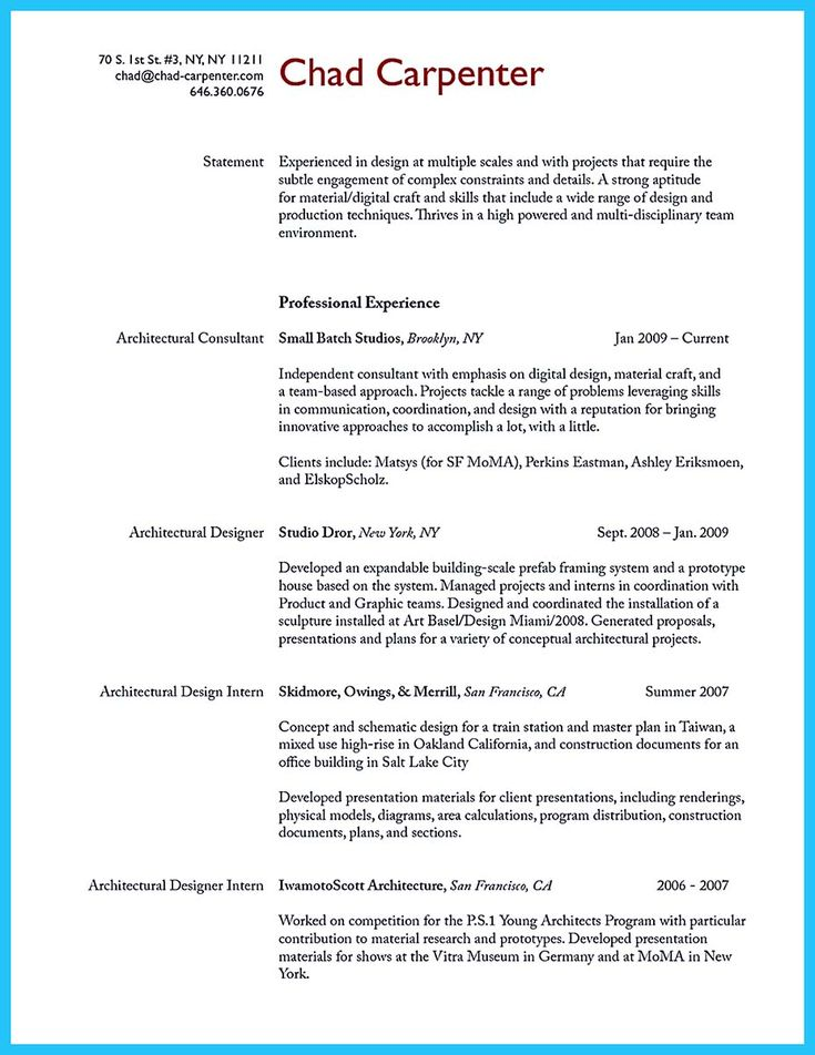 awesome Tips You Wish You Knew to Make the Best Carpenter Resume - resume for carpenter