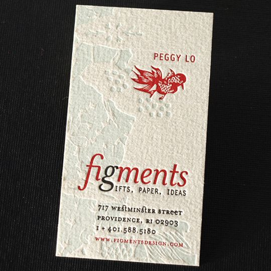 Post Image For Figmentsu0027 Textured Business Card
