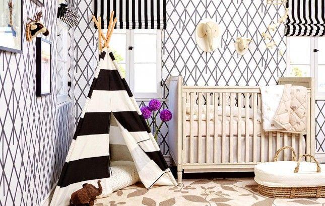 Loving this gender neutral nursery.