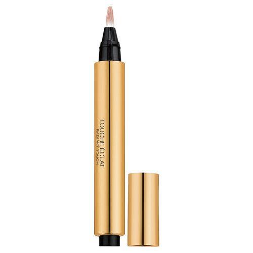 Touche Eclat - Yves Saint Laurent. Star anti-colorito spento. Una penna-pennello, da portare ovunque per illuminare, cancellare le zone d'ombra e i segni di stanchezza (occhiaie, incavo del mento, contorno labbra e ali del naso). Tutti i tipi di pelle.
