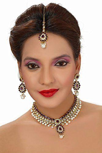 Indian Bollywood Purple Stone Kundan Gold Plated Party We... https://www.amazon.com/dp/B01MSADCSZ/ref=cm_sw_r_pi_dp_x_VbEHyb2EWTRA4