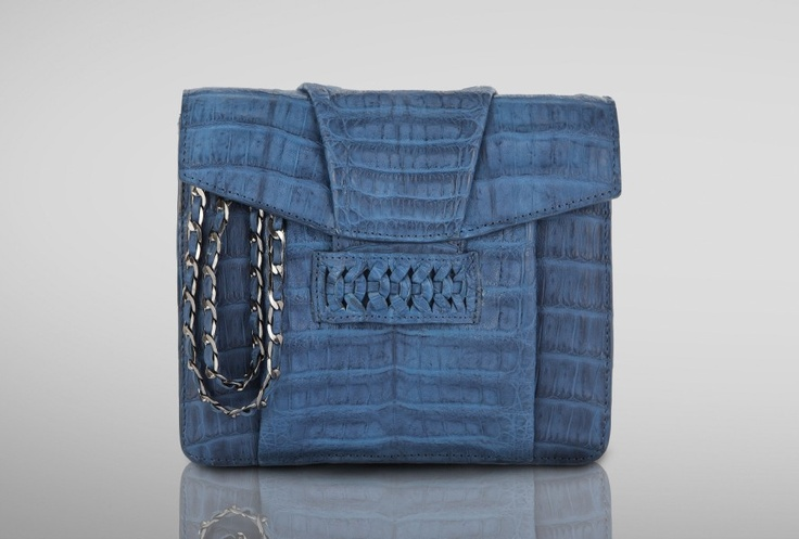 CASHHIMI | Charlton cross-body | Crocodile