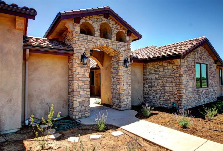 17 best images about tuscan courtyard inspired custom home for Tuscan home plans with casitas