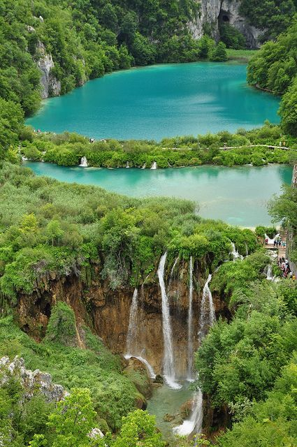 """Plitvice Lakes National Park, Croatia... so many countries that you wouldn't necessarily think of as """"beautiful"""" have so much to offer"""