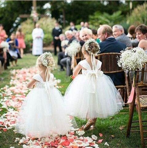 Um décor com passarela de pétalas de rosas na fazenda♡