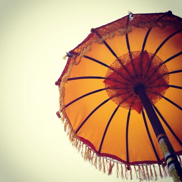 umbrella for ceremony | Bali, Indonesia