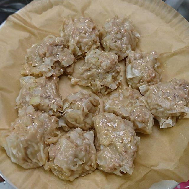 シュウマイo(^o^)o  #クックパッド#おかみさん#男飯#おとこめし#肉#中華#飲茶#シュウマイ