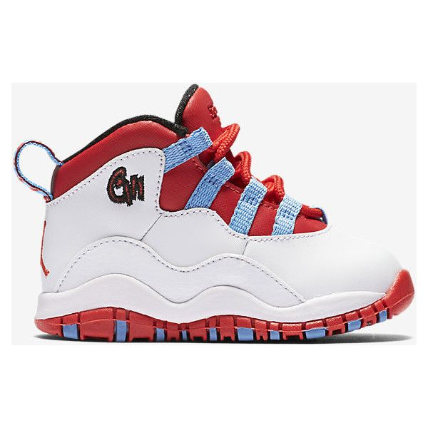 Air Jordan Retro 10 (2c-10c) Infant/Toddler Kids' Shoe.