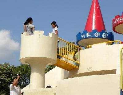 飛鳥山公園と子供たち (王子