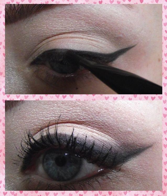 Valentine's Edition: Flirty, Smokey Winged Eye!