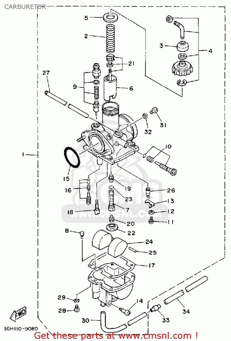 Yamaha Moto 7 Engine Diagram Yamaha Moto 7 Engine Diagram