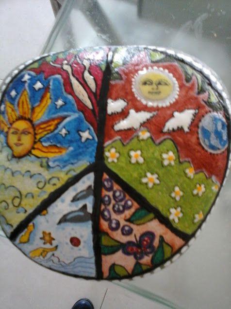 mandala del sol regalado a Carmen Ramallo
