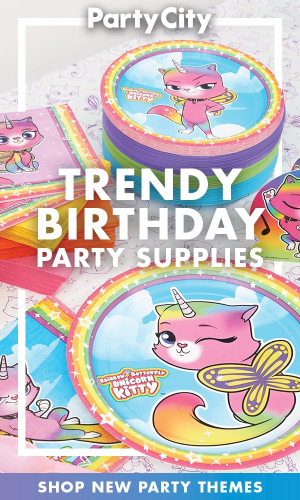 Shop New Birthday Party Themes Available Now At Party City Cumpleanos Belenes