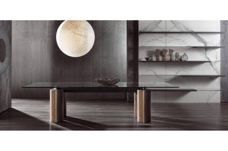 Serenissimo Table by Lella & Massimo Vignelli + David Law for Acerbis