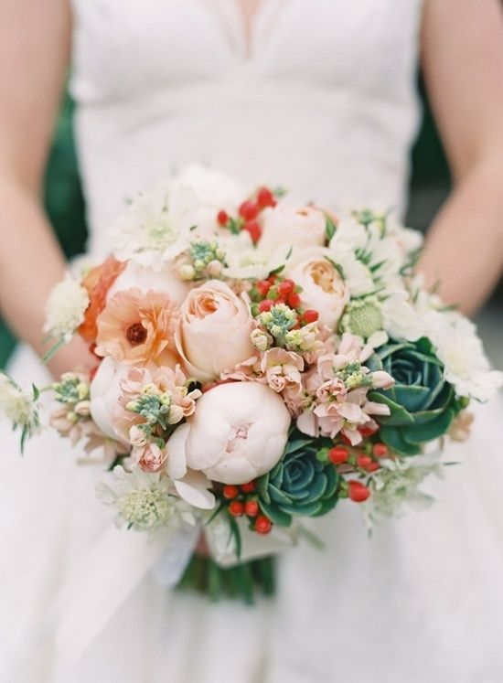 Bridal Bouquet Plant Images : Best images about succulent wedding flowers on