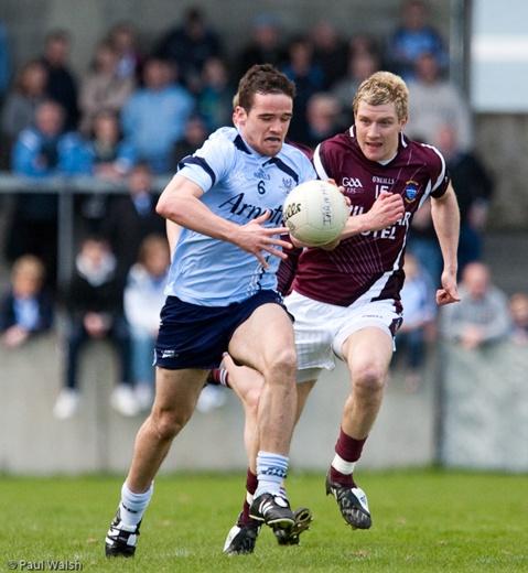 Gaelic football. (Dublin v Galway)