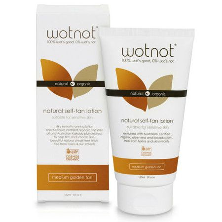 WOTNOT Natural Self-Tanning Lotion | Nourished Life Australia