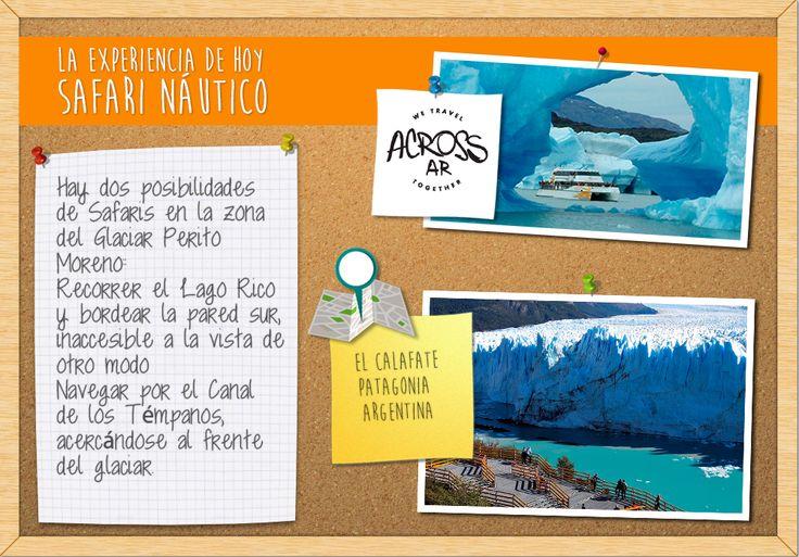 Un poco de #aventura para recibir el #FinDeSemana! #glaciar #peritomoreno #calafate #navegacion - El Calafate en Santa Cruz   #buenviernes para planear un #viaje de #aventura en #pareja > http://goo.gl/feo92s   #buenviernes para disfrutar de una #experiencia de #aventura en #familia > http://goo.gl/BqOOEV