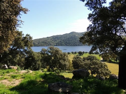 Beautiful 17.000 SqM lot for sale in the North East area of Sardinia, overlooking Liscia Lake nearby Sant'Antonio di Gallura. An ideal location for those looking for permanent residence with peace and quiet and countryside surroundings.  #sardinia #realestate #plot #land #lake #view #farmhouse #agents #italy