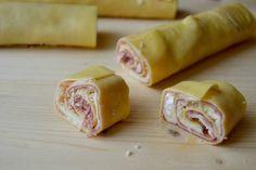 Rotolini di pasta con speck  e brie di Dolce e Salato di Miky