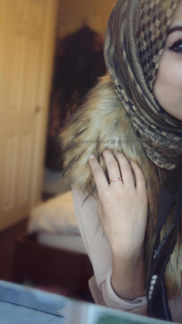 Camera shy. #hijab
