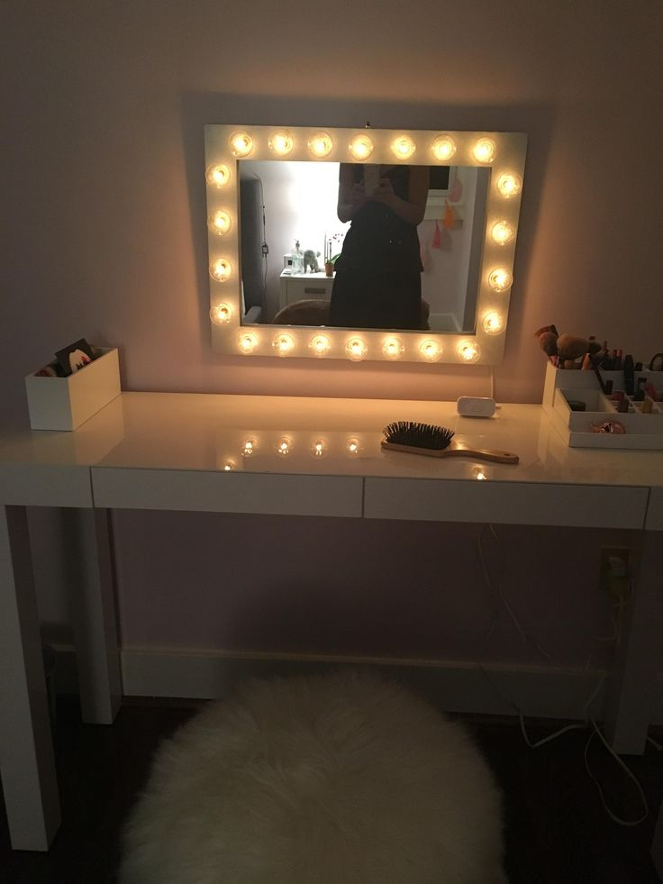 ideas furniture art on lighted co set mirror desk makeup best bedroom with the desktop getrewind sets vanity