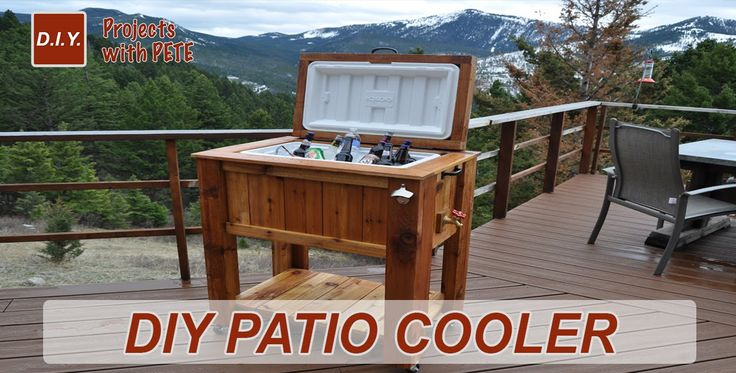 Learn how to build a DIY Patio Cooler Cedar Ice Chest with DIYPETE. He'll show you all of the steps needed to build your own cedar ice chest. For more info, ...