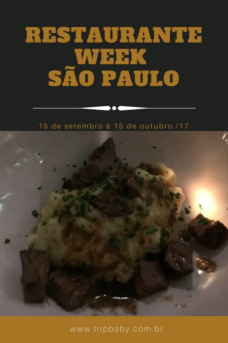 10 anos de Restaurante Week. Saiba tudo desta edição em São Paulo.
