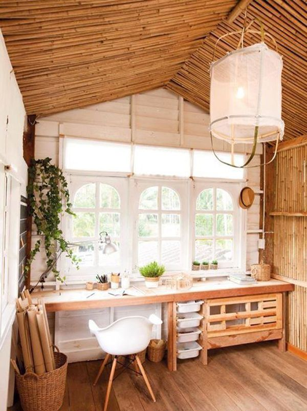 25 Artistic Interior Designs With Bamboo Accents Small Wooden House House Design Kitchen Bamboo House Design