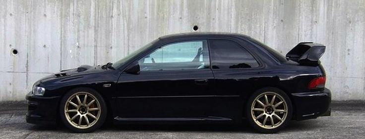 Sick Subaru 2.5 RS GC8  #stance #hellaflush