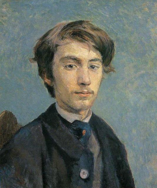 Πορτρέτο του καλλιτέχνη Εμίλ Μπέρναρντ