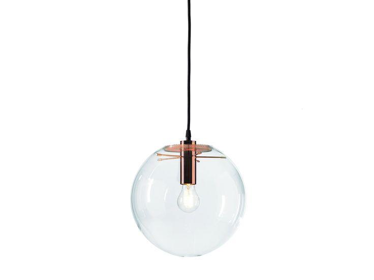Lampada da soffitto a luce diretta in vetro SELENE by ClassiCon | design Sandra Lindner