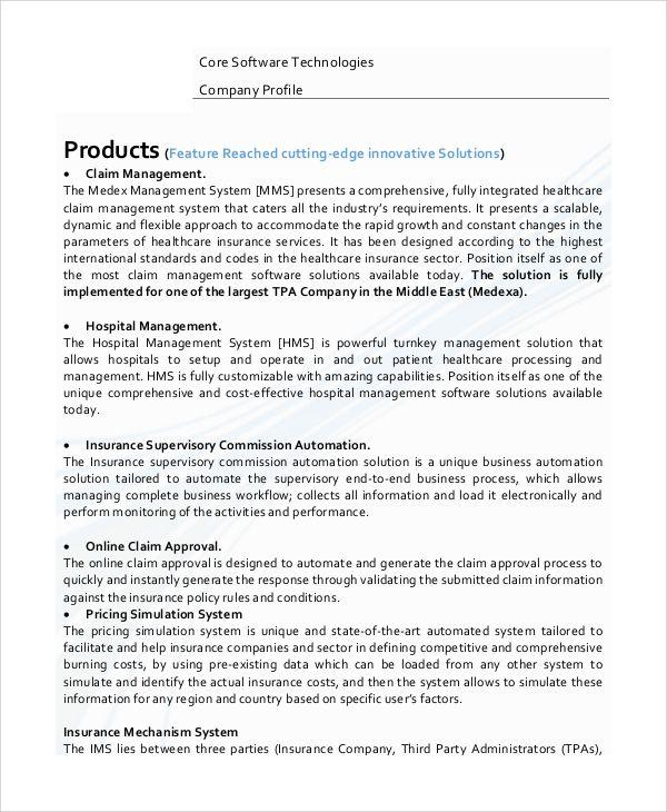 Sample Resume Ict Company Profile Template Bestsellerbookdb Company Profile Template Business Profile Company Profile