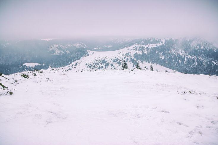 Vedere panoramica de pe Vf Poieni | Bihor in imagini