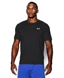 Under Armour Men's Short Sleeve Tech Tee, Large, Black/White -   - http://sportschasing.com/sports-outdoors/under-armour-men39s-short-sleeve-tech-tee-large-blackwhite-com-2/