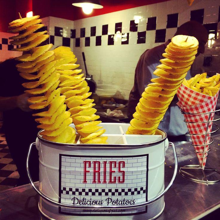 2°Me: FRIES: la nuova generazione di patatine fritte