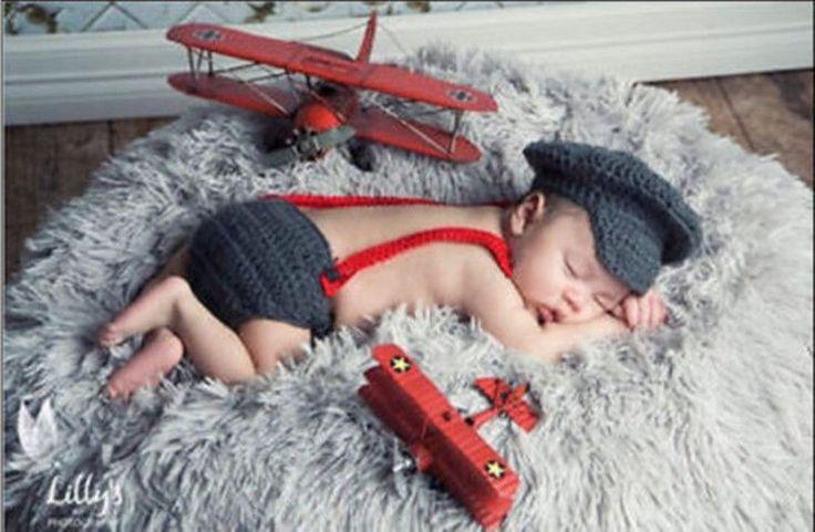 Купить HOT Newborn Baby Girls Boys Crochet Knit Costume на eBay.com из Америки с доставкой в Россию, Украину, Казахстан