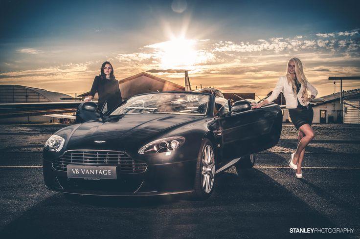 Photoshoot for Aston Martin Denmark // Models: Raimonda and Malene // Photo: Stanley Photography