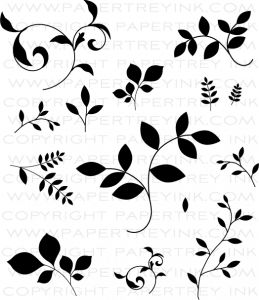 Turning a New Leaf Stamp Set by Papertray Ink