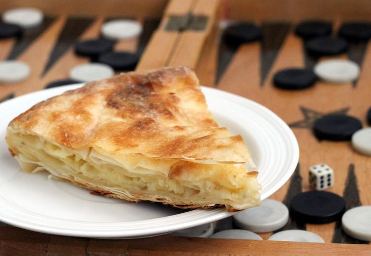 moja turecká kuchyňa: Kolay tava böreği/Jednoduchý burek z panvice