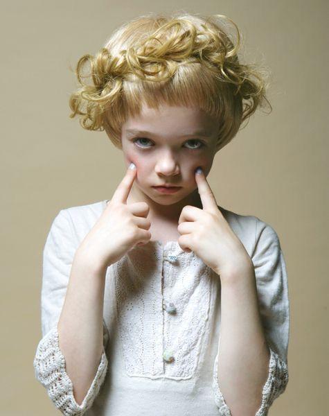 Goldilocks / portrait
