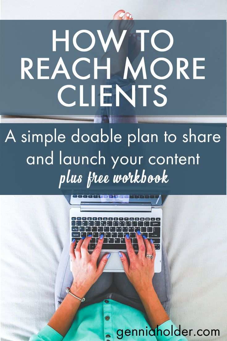 Get your free workbook!! Need ideas to promote your content? Take a look at…