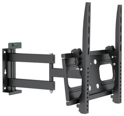 Deluxe Крепёж для тв и мониторов deluxe dlmm-2608  — 2811 руб. —  Крепёж для ТВ и мониторов Deluxe DLMM-2608 Настенное крепление подходит для телевизоров и мониторов с диагональю экрана от 32'' до 55''. Крепление DLMM-2608 позволяет менять угол наклона вниз 10 градусов. Допустимая максимальная нагрузка 45 кг. Крепёж изготовлен из высококачественного металла и имеет самый распространённый размер монтажных отверстий. Крепление адаптировано для простого и быстрого монтажа. В комплекте…