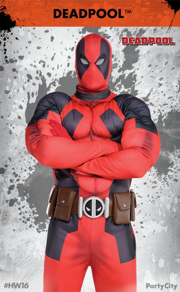 transform yourself into the merc with a mouth with deadpool costumes from party city dress - All Halloween Costumes Party City