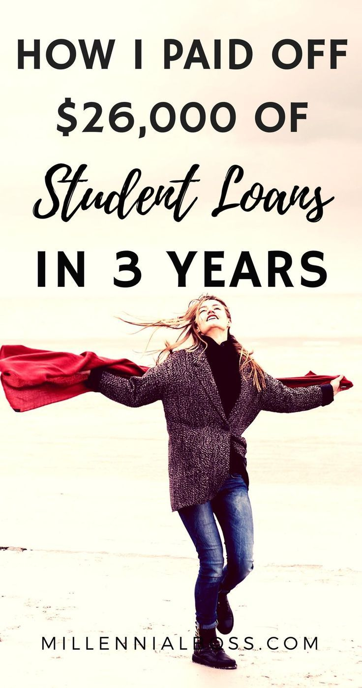 How I Paid Off $26,000 of Student Loans in 3 Years