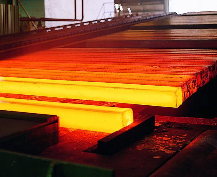 Steel billets - red hot #billets for hot rolling