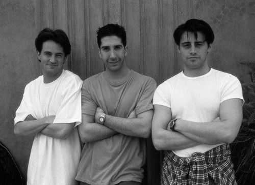Matthew Perry - David Schwimmer - Matt LeBlanc
