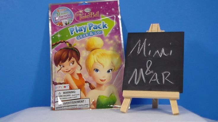 TinkerBell Disney Faeries Play Pack Grab & Go Review ...